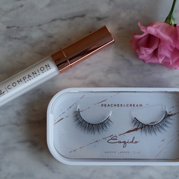 Esqido Unisyn Lashes in Peaches & Cream Review &Demo