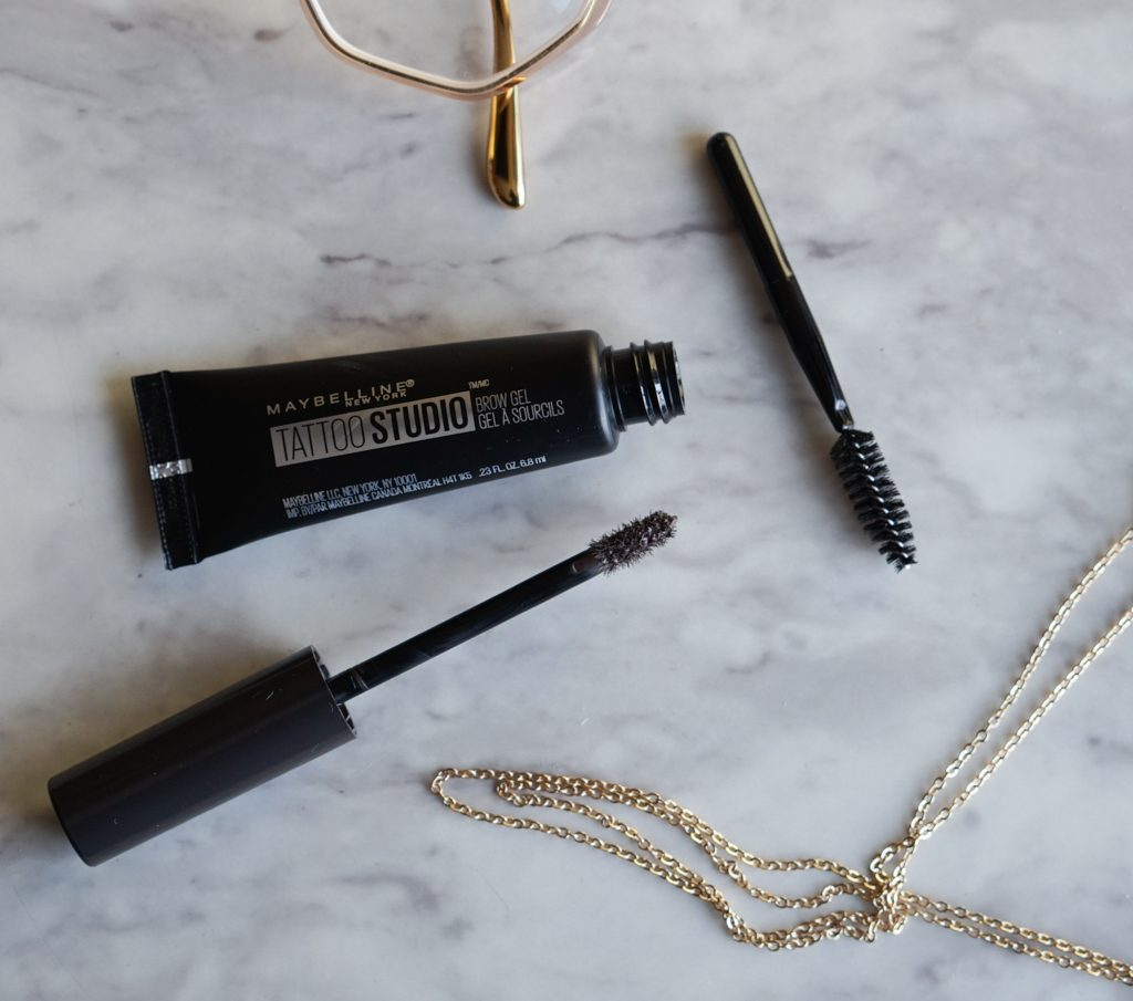 Maybelline Tattoo Studio Brow Gel Review Demo Raincouver Beauty