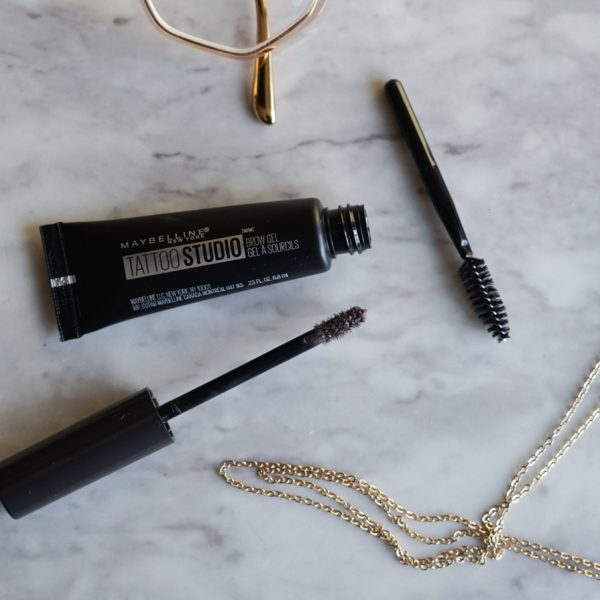 Maybelline Tattoo Studio Brow Gel Review & Demo