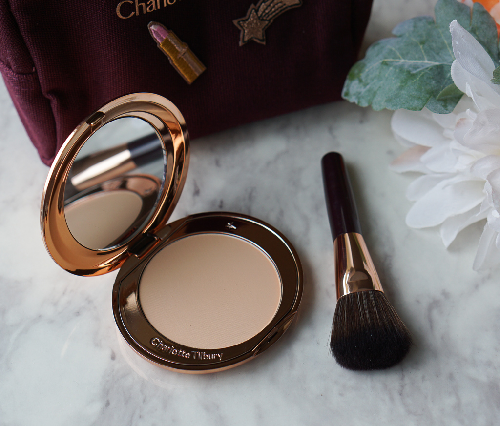 charlotte tilbury airbrush flawless finish powder review raincouver beauty